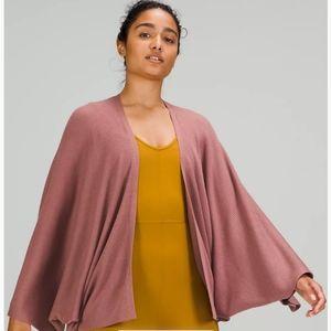 Lululemon Cashlu Knit Textured Wrap